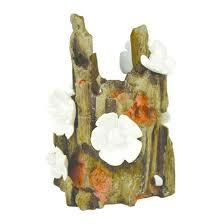 biorb flower ornament aquarium sculptures brown target