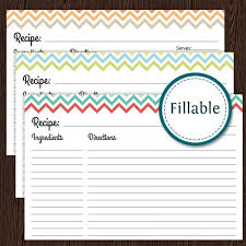 25 free printable recipe cards home cooking memories with regard
