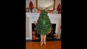 christmas tree costume christmas tree costume work in progress
