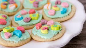Pillsbury Sugar Cookies Halloween lucky charms cookies how to pillsbury com