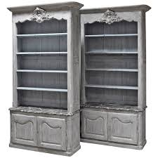 pair of louis xv style custom made french bookcases at 1stdibs
