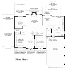 Georgian Floor Plans by Preserve At Marvin The Duke Home Design