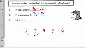math 8 probability theoretical and experimental youtube