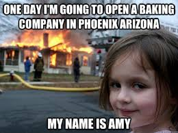 Baking Meme - the best memes about amy s baking company
