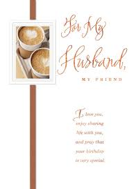 my husband my friend religious birthday card greeting cards