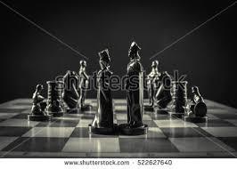 Futuristic Chess Set Chess Pieces Immagini Stock Immagini E Grafica Vettoriale Royalty