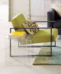 cb2 acrylic nesting tables love these peekaboo clear nesting tables set of three in accent