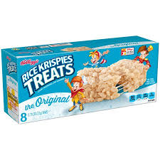 kellogg s rice krispies treats original 8 ct walmart