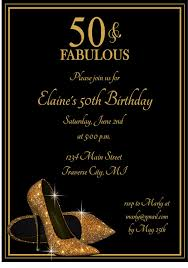 gold glitter shoes birthday party invitation printable