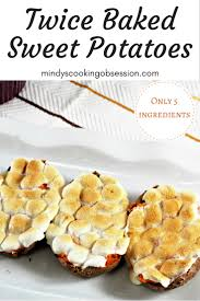 thanksgiving yams recipe marshmallows twice baked sweet potatoes mindy u0027s cooking obsession