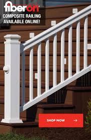 48 best fiberon railing images on pinterest railings decking