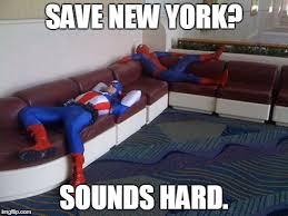 Lazy Meme - lazy heroes imgflip