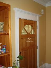 Exterior Door Design How To Build Door Trim 114 For About 60 00 The Of Moldings