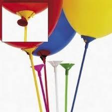 balloon sticks multicolor balloon sticks with cup 12 dozen bulk