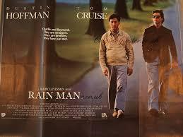 Rain Main - rain man original vintage film poster original poster vintage