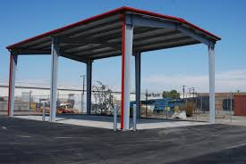 Solar Canopy by Steel Carports U0026 Solar Structures Pascal Steel Buildings