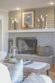 fireplace creative should i paint my brick fireplace home