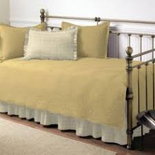 daybed cover set 5 piece cotton quilt bed skirt shams cotton