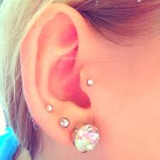 mens tragus what are the types of earrings recommended for tragus piercing