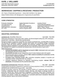 Hotel Management Resume Examples by Production Supervisor Resumes Production Supervisor Resume