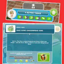 the sims freeplay weekly tasks and mystery box shop the