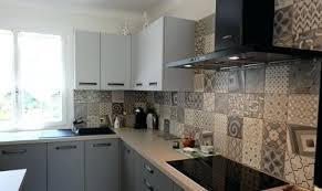 cuisine carreau de ciment carreaux de ciment pour cuisine cuisine equipee credence carreaux