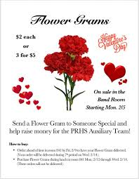 send a gram prhs bands on send a flower gram to someone special this