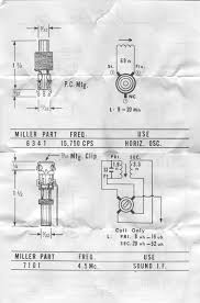 vintage data sheets for coils transformers and other tube era