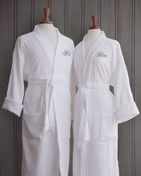 his and hers wedding gifts luxor linens terry cloth bathrobes 100