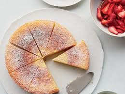 ricotta orange pound cake with prosecco strawberries recipe