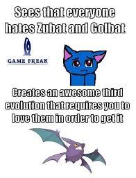 Zubat Meme - game freak helping zubat meme by nikica memedroid
