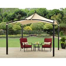 exterior patio swing with canopy sears 2 person black wicker