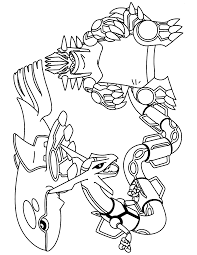 groudon pokemon printable coloring pages that are cute images