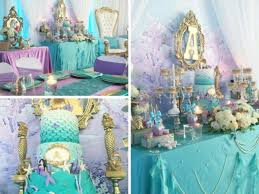 purple baby shower ideas beautiful golden mermaid baby shower baby shower ideas themes