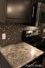 harold pionite laminate countertop brown mosaic tile backsplash