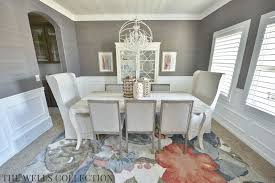 room transformation the wells collection modern vintage country dining room