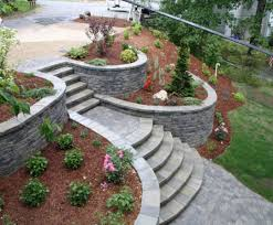 home garden decoration ideas backyard amazing landscaping a hillside backyard beautiful and