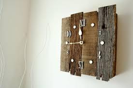 clock made of clocks custom made vintage style reclaimed barnwood clock by knot 2