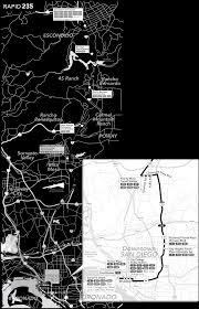 San Diego Mts Map by Maps Rapid U2013 San Diego Metropolitan Transit System