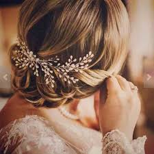 bridal hair pieces aliexpress buy 2017 new luxurious hair accessories 100