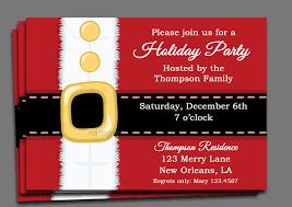 christmas party invitation blueklip com