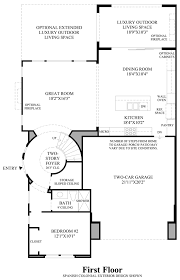 Huntington Floor Plan Arlington At Parkside The Huntington Home Design