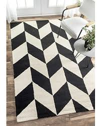 Black And White Area Rugs For Sale Sweet Deal On Nuloom Handmade Retro Checker Tiles Black And White