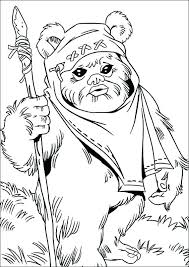 Ewok Coloriage Star Trek Coloriage Ewok Star Wars  dmatechinfo
