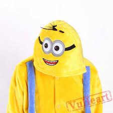 Cheap Halloween Costumes Pajamas Minions Boys U0026 Girls Minions Winter Kigurumi Onesies Pajamas Costumes