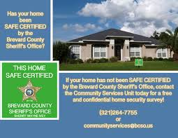 Home Security by Home Security Survey Brevard County Sheriff U0027s Office