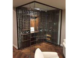 glass basement doors glass enclosed wine cellars by wine cellar innovations