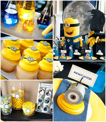 minions themed birthday decorations image inspiration of cake