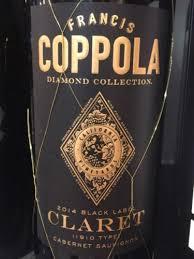 francis coppola claret francis ford coppola diamond collection black label claret cabernet