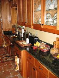 granite countertop kitchen cabinets handles stainless steel